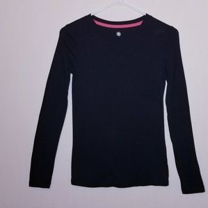 Sonoma long sleeve tee shirt xs black